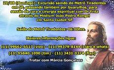 Excursao Joao Pedro Rangel- Cura Espiritual e Psicografias