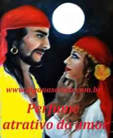 Perfume atrativo do amor