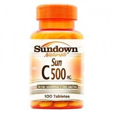 Vitamina C 500mg (100tabs) - Sundown