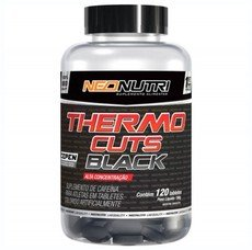 Thermo Cuts Black (120tabs) - Neo Nutri