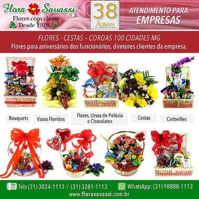 Buquê de Flores Cesta de Café e Coroas Entrega em BH