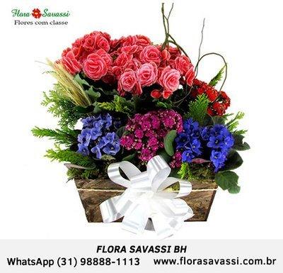 Flora BH Buquê de Gérberas, Buquê de Girassol Buquê de Rosas