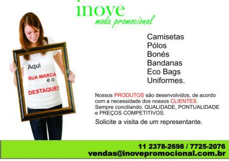 Camisetas Personalizadas Inove