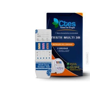 Testes de drogas Multi 3B